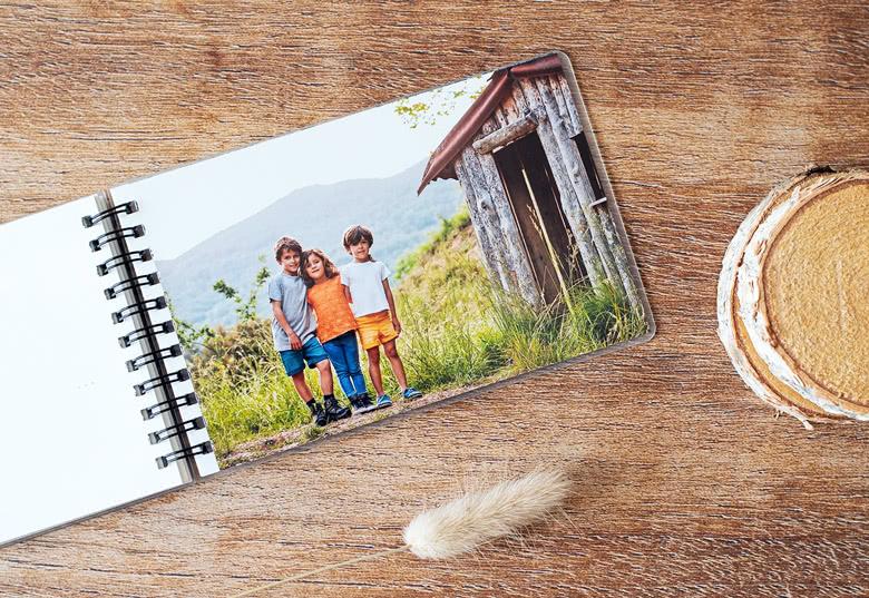 Commandez un album photo de poche