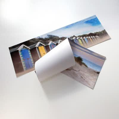 Panorama foto poster 30 x 80 Mat