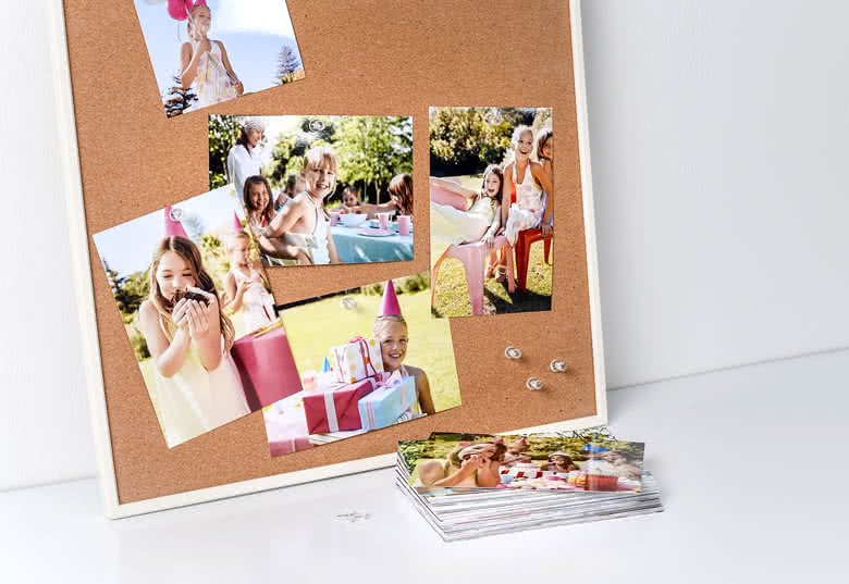 Standardfotopapir med blank finish