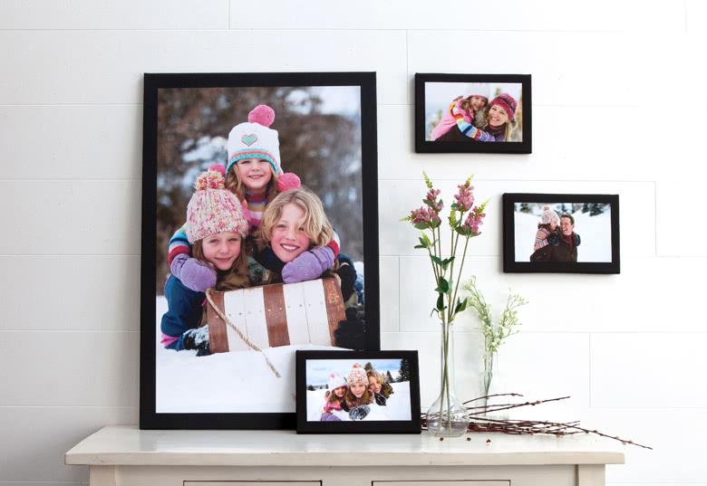 Erstellen Sie eine Foto-Leinwand zur Dekoration Ihres Zuhause