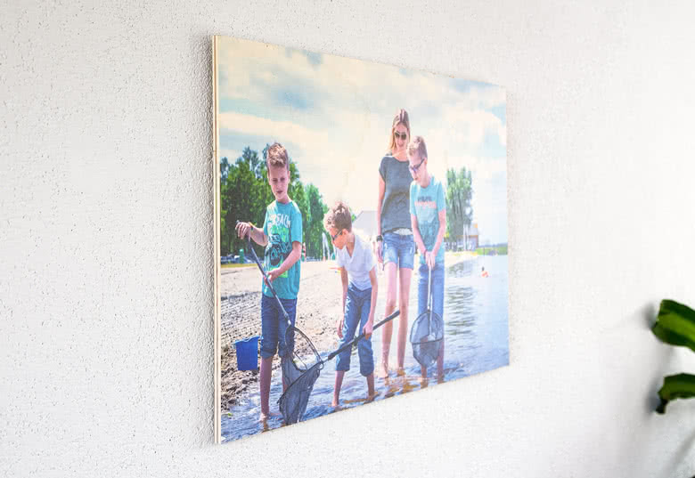 Create your Photo on wood