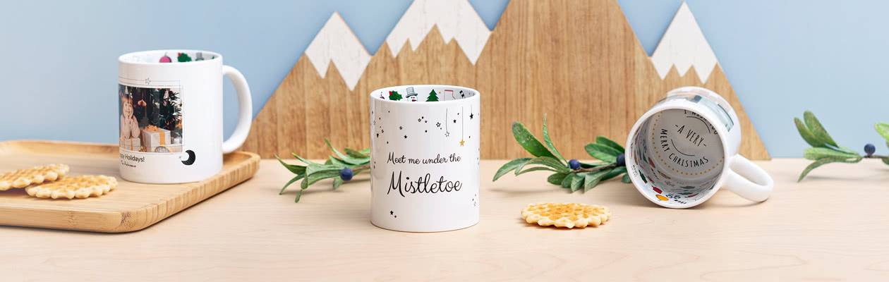 LIMITED EDITION - Turn your mug into a Christmas Mug
