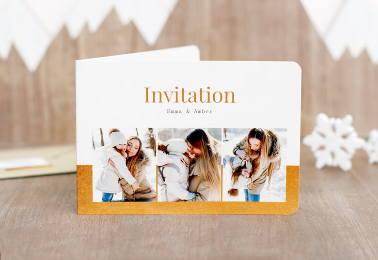 Single card with rounded corners