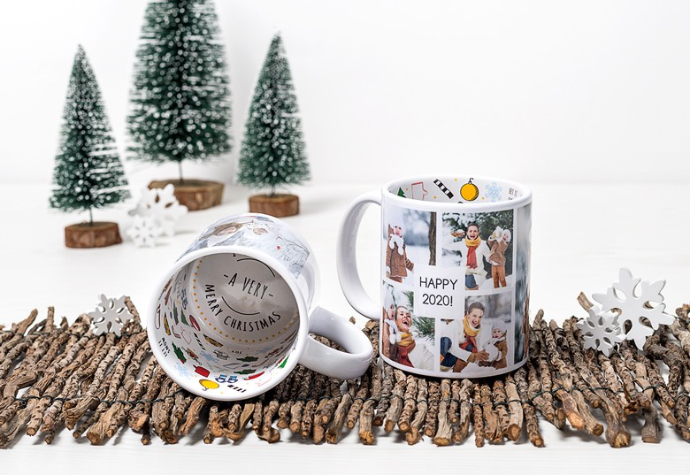 Christmas Themed Mug