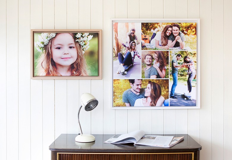 Create your Framed Photo Canvas