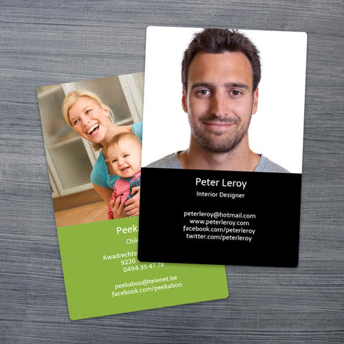 Carte De Visite Autocollante Cartes Adhesives