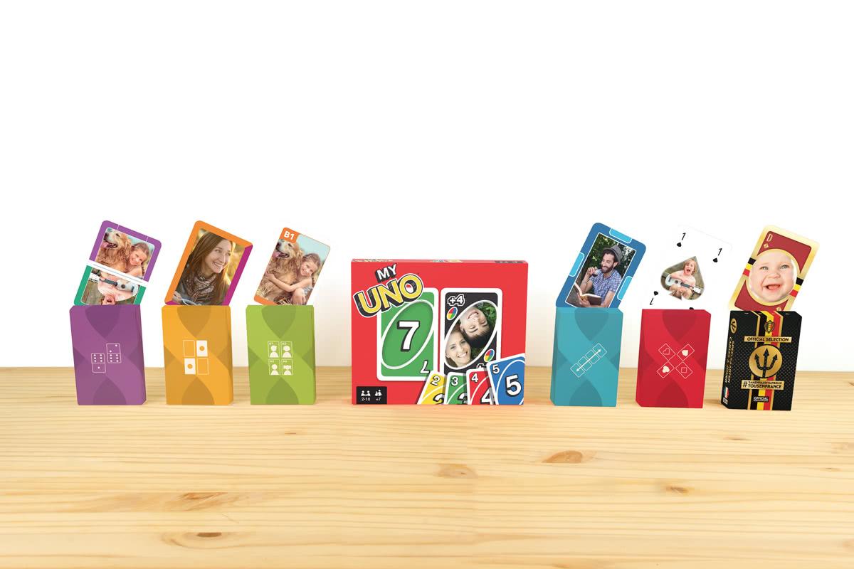 Personalisierte Kartenspiele