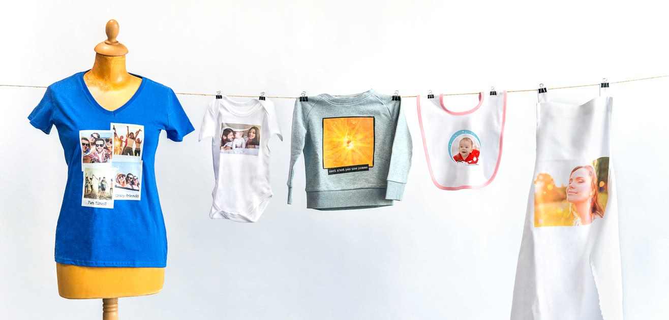 3d797bb0727c Tryck din egen bild & text på kläder - Beställ kläder med eget tryck    smartphoto
