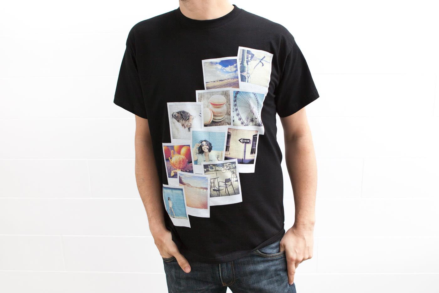 f4bd335c Design din egen T skjorte med foto hos smartphoto.