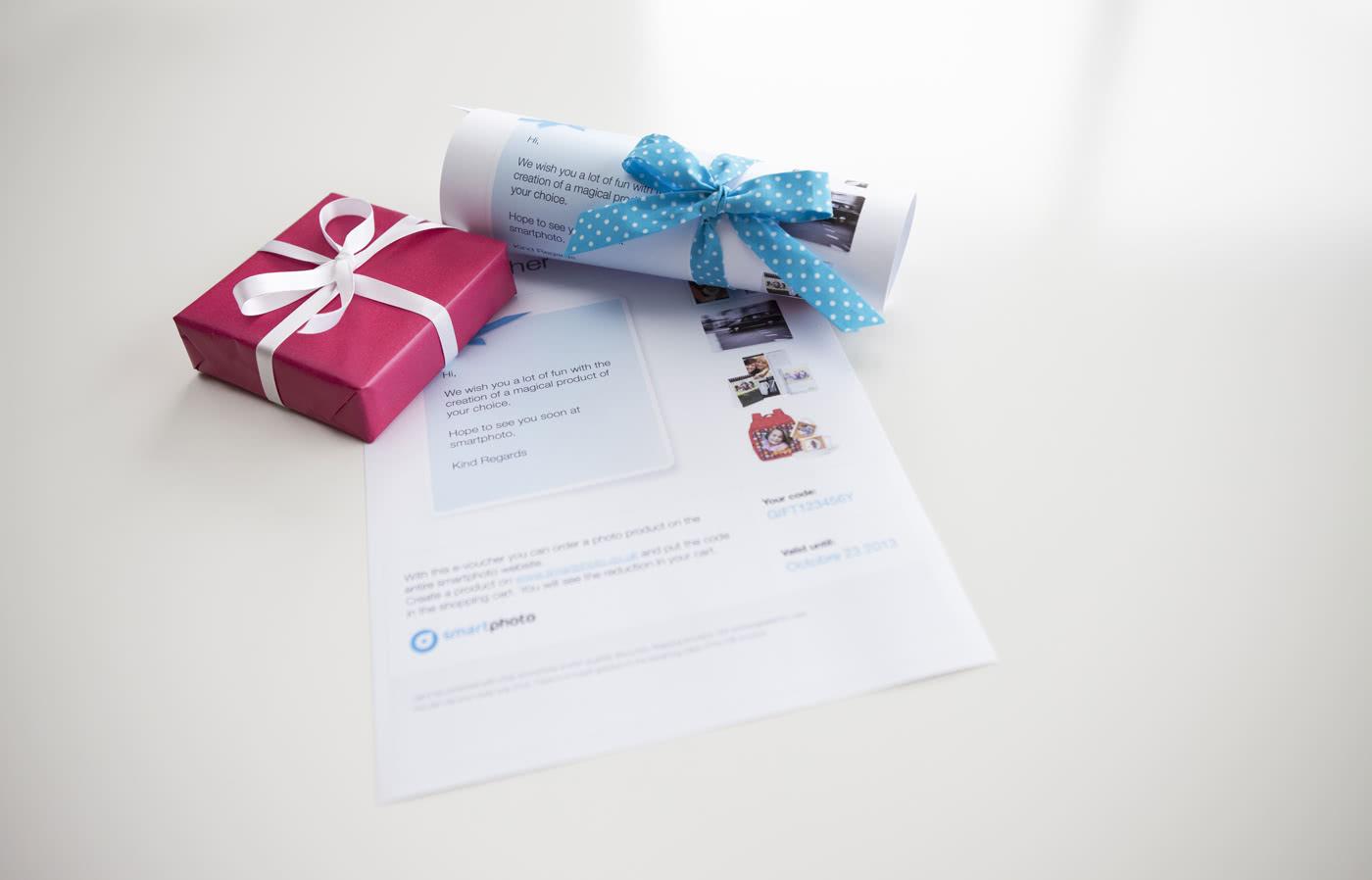 9d3c490ccbe Gavekort til Smartphoto - Lav et gavekort til vores webshop online