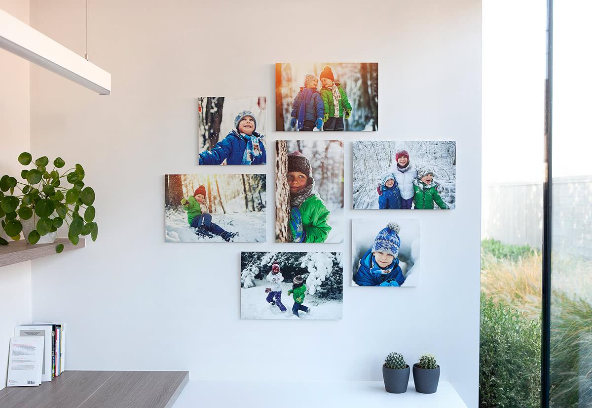 fotowand aus forex ihre sch nsten fotos auf mehrere. Black Bedroom Furniture Sets. Home Design Ideas