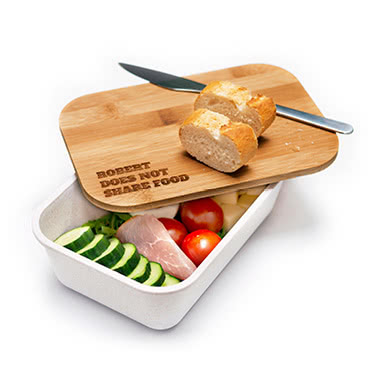 New bamboo lunch box !