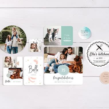 Sticker & Etiketten
