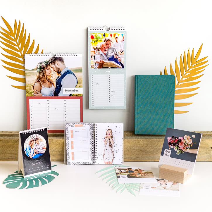 Photo Calendars & Diaries