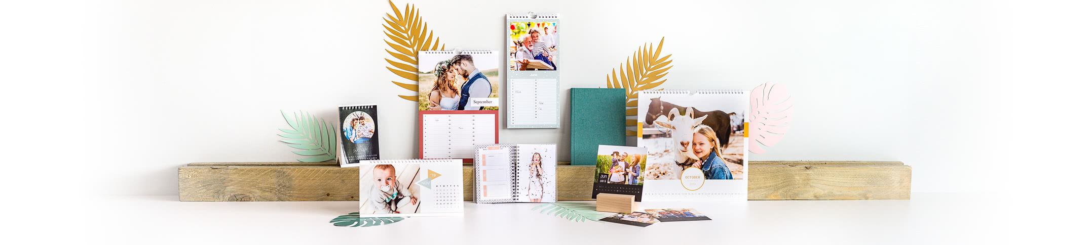 Calendars & Diaries - Create your own Photo Calendar and keep track of the days in a smart way!