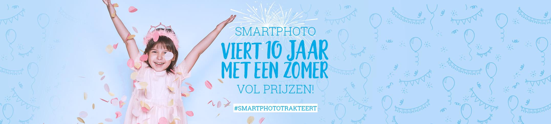 smartphoto trakteert op een zomer vol prijzen!