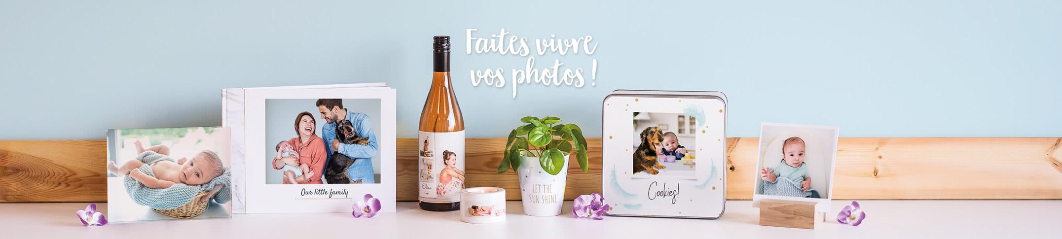 Offre du mois de juillet 2020 smartphoto Belgique - impression photo et cadeaux personnalisés
