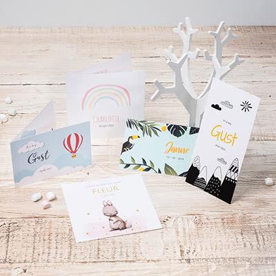 Mooie geboortekaartjes maken en bestellen