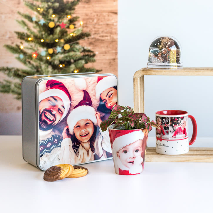 Individuelle Weihnachtsgeschenke mit eigenem Foto gestalten +++