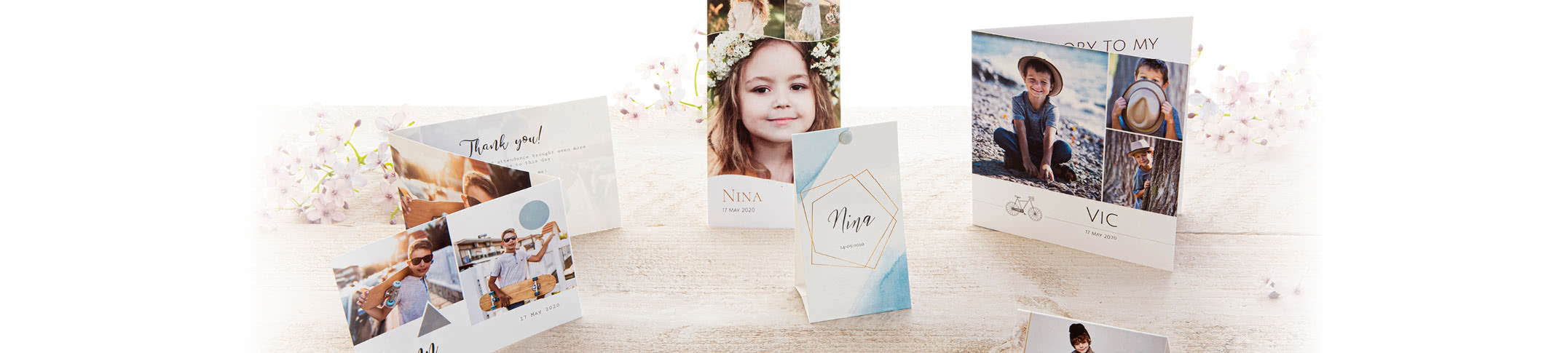 Faire-part de communion & invitations 2020 smartphoto