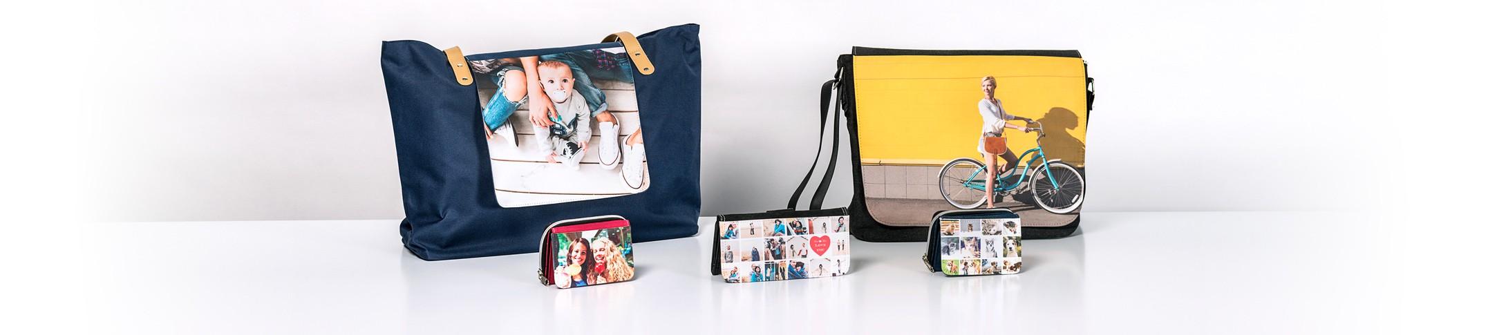 Väskor och Plånböcker - Gör Väskor och Plånböcker med dina egna bilder