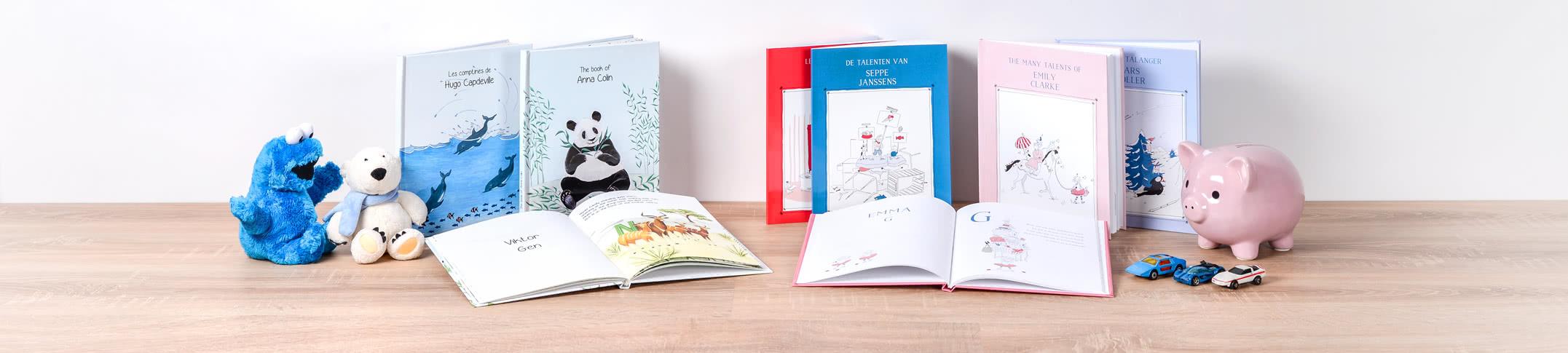MyNameBook - Boken som gjør ditt barn til hovedpersonen i sin egen historie!