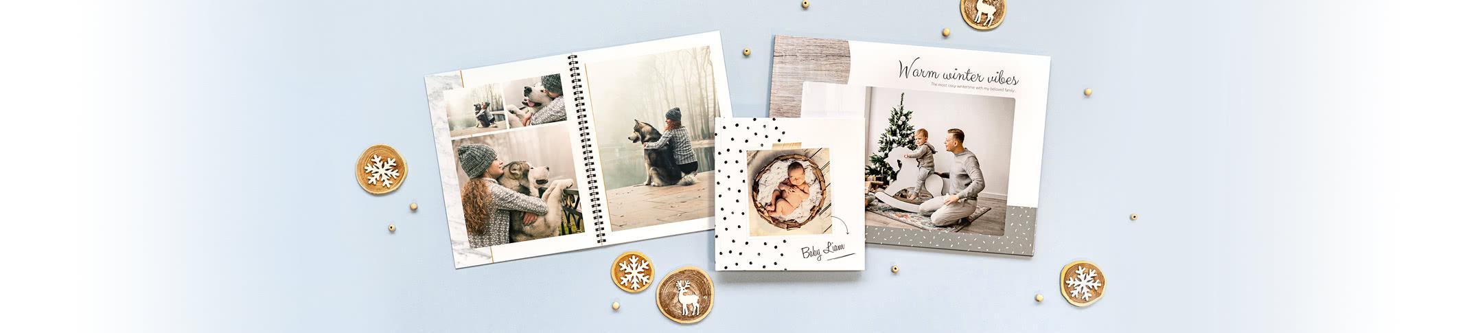 Fotobøger - Saml alle de gode minder i en unik fotobog!