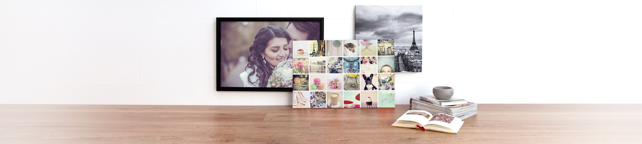 Wall Decoration on Canvas - Create your gallery of strikingly beautiful canvas wall art!
