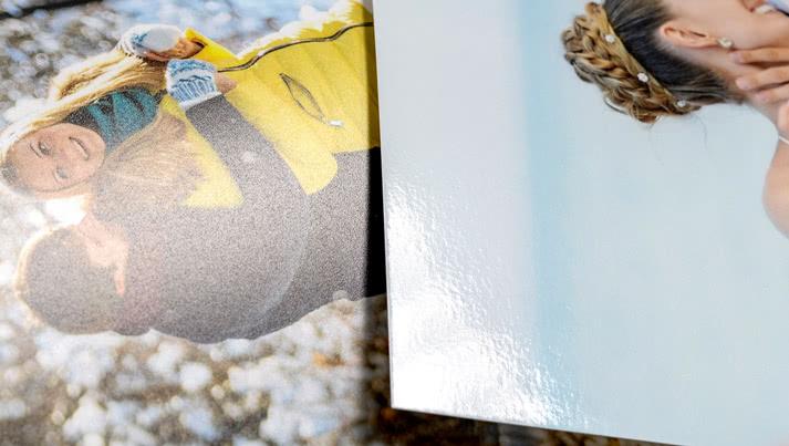 Wählen Sie das Premium Papier für ein luxuriöses Fotobuch!