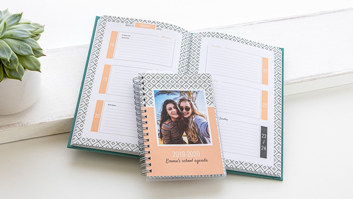 Calendrier Perpetuel Personnalise 365 Jours.Calendrier Photo Agenda Photo Calendrier Personnalise 2019