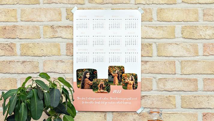 Ein einzigartiger Fotokalender