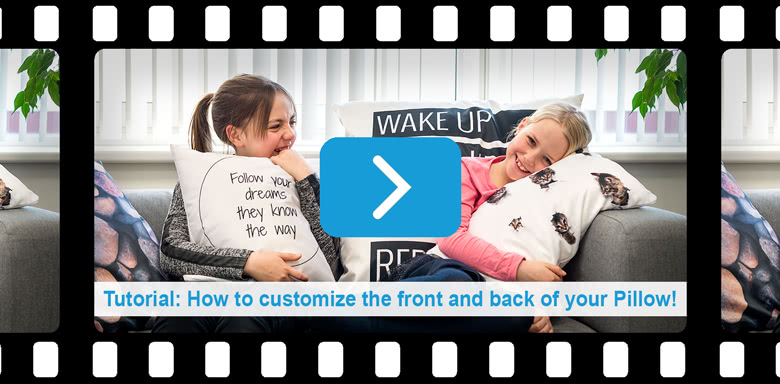 Tutorial: How to customize your pillow!