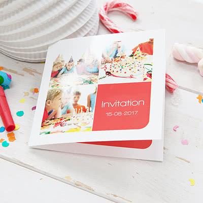 Invitations personnalisees anniversaire enfant