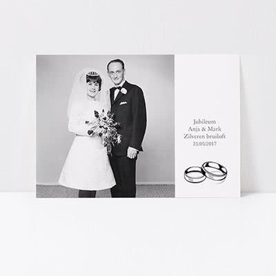 Uitnodiging Huwelijksverjaardag - Jubileum